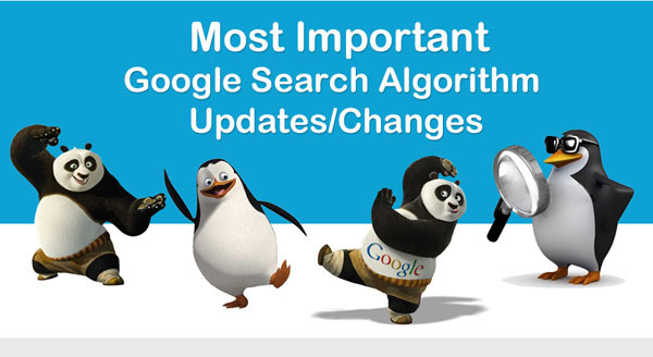 google-search-algorithm-updates