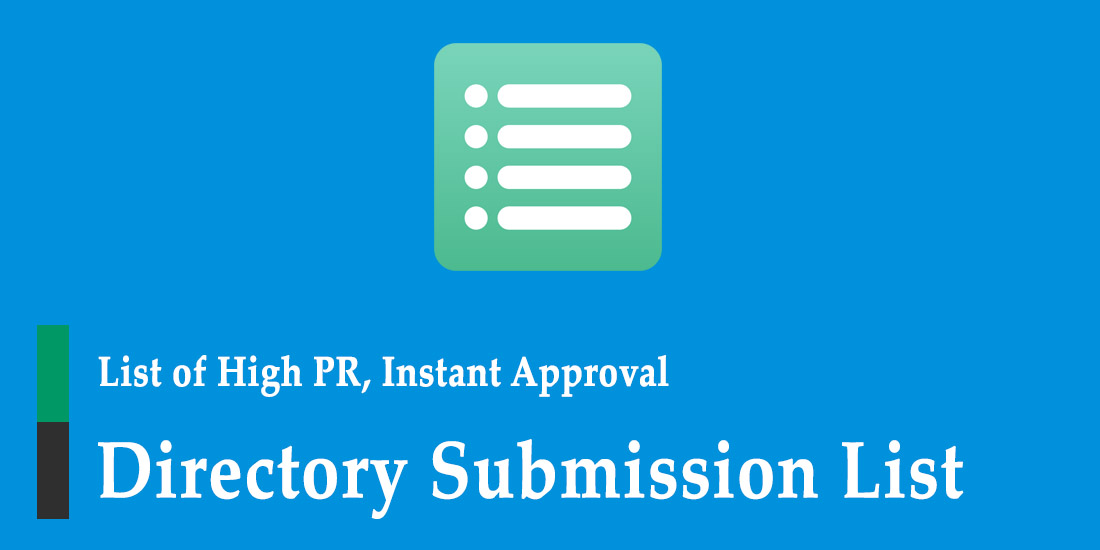 1000 High PR Directory Submission List 2018