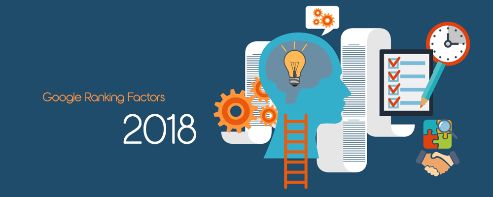 Google ranking factors 2018
