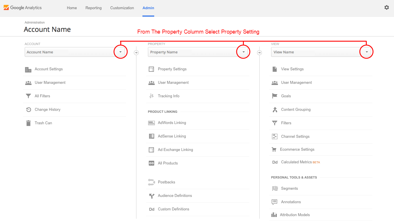 Google-Analytics-Linking